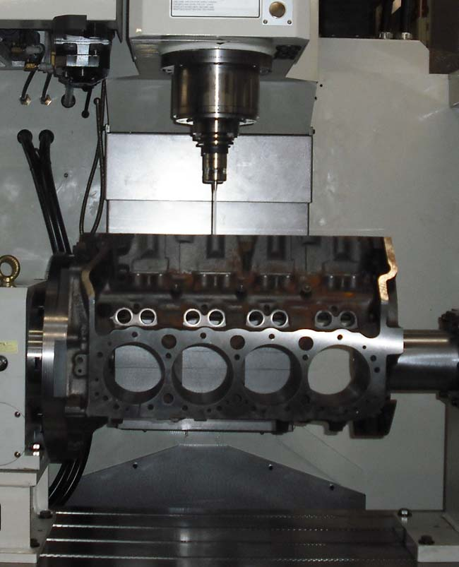 CNC Engine Block Blueprinting Process