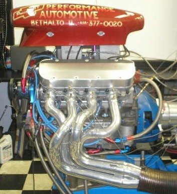 Drag Racing Engine Building