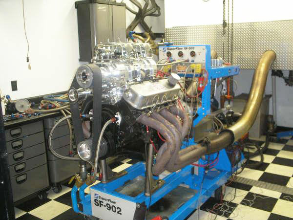 Super Flow Engine Dyno Test Facility